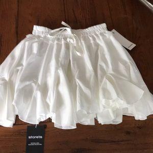 fe5084f01 storets Skirts   Emilee White Angelic Skort   Poshmark